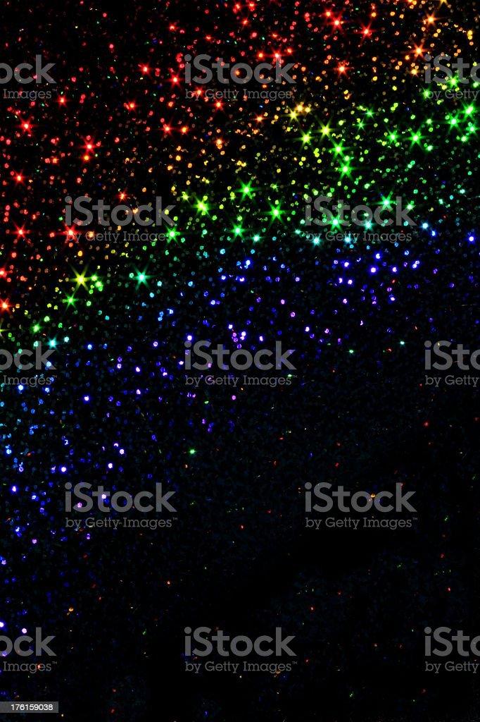 Sparkle Night Sky royalty-free stock photo