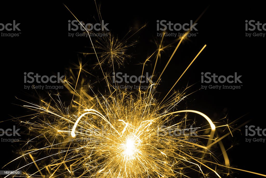 Sparkler royalty-free stock photo