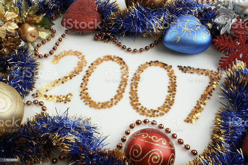 Sparkles 2007 royalty-free stock photo