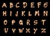Sparkling Alphabet XXXL