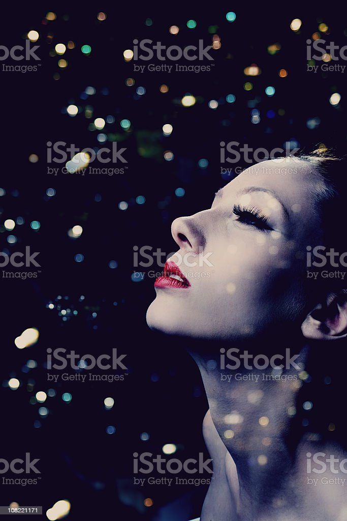 Sparkling beauty royalty-free stock photo