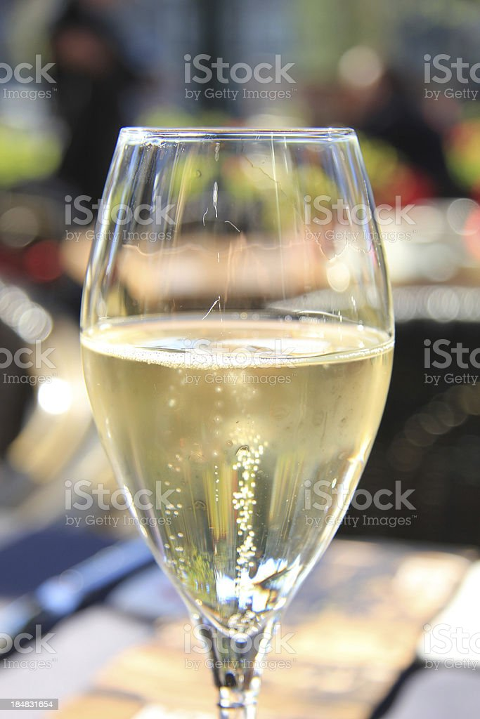 Sparkling Champagne royalty-free stock photo