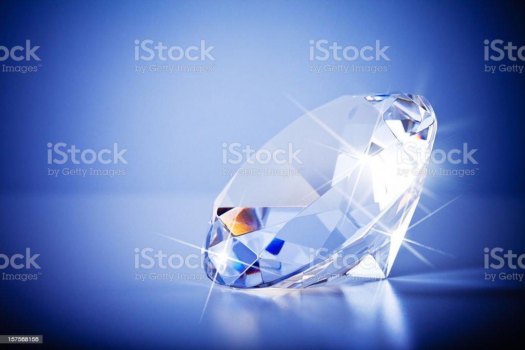 Sparkling Diamond royalty-free stock photo