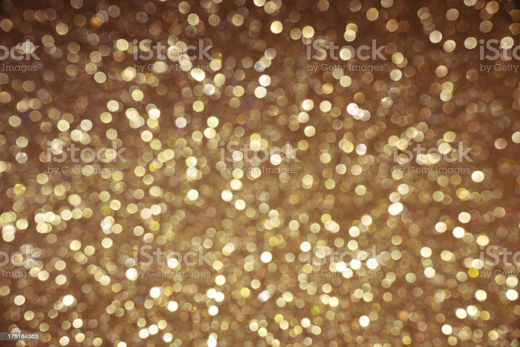 Sparkling gold background stock photo