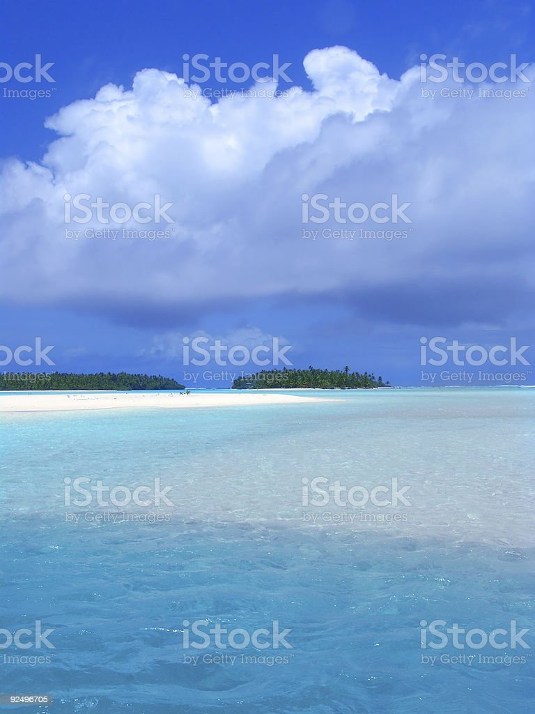 Sparkling Lagoon royalty-free stock photo