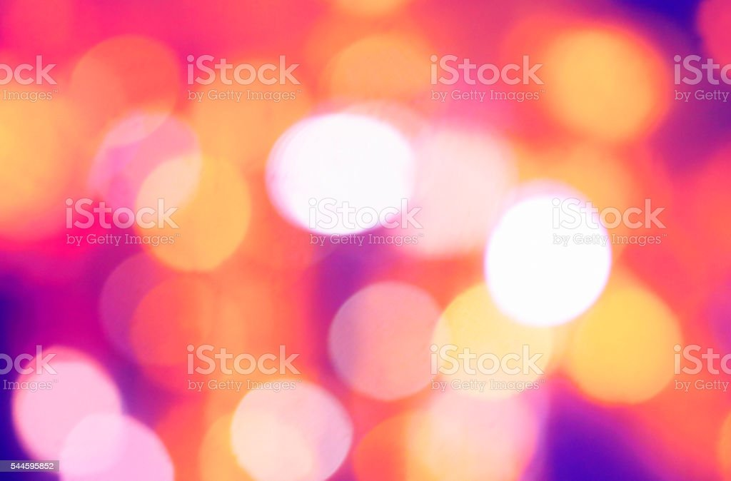 Sparkling lights abstract background stock photo