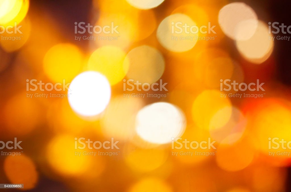 Defocused shining lights abstract background