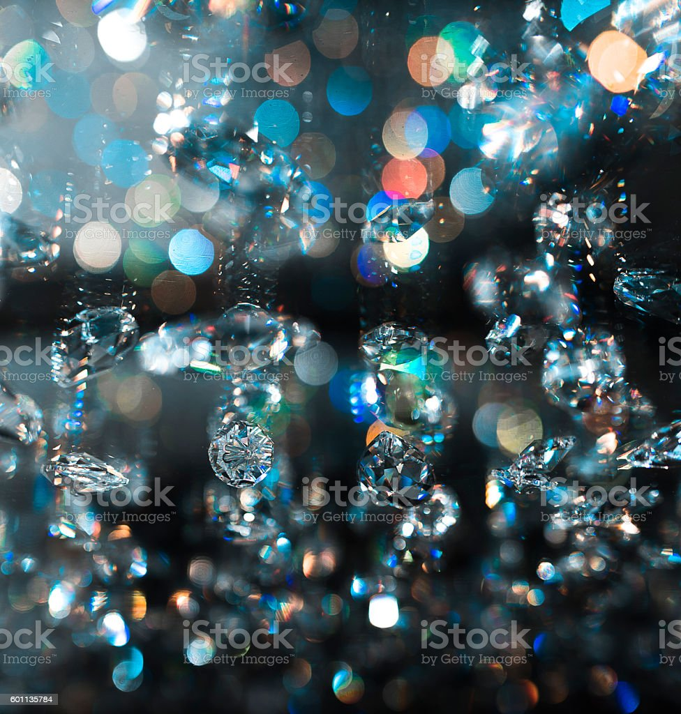 sparkling lights stock photo