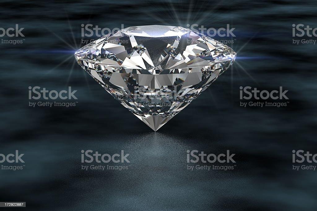 Sparkling Rock royalty-free stock photo