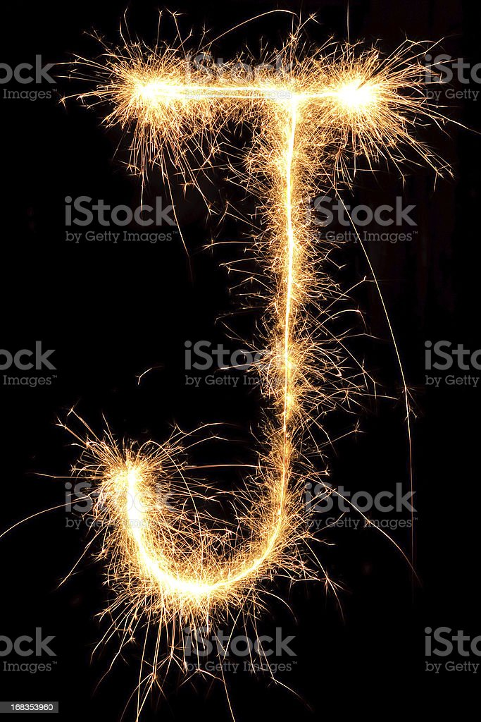 Sparkling Sign royalty-free stock photo
