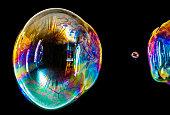 Sparkling Soap Bubble