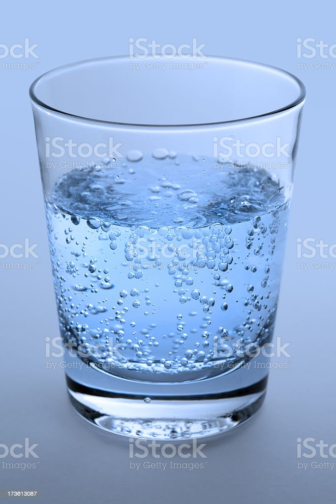 Sparkling Water royalty-free stock photo