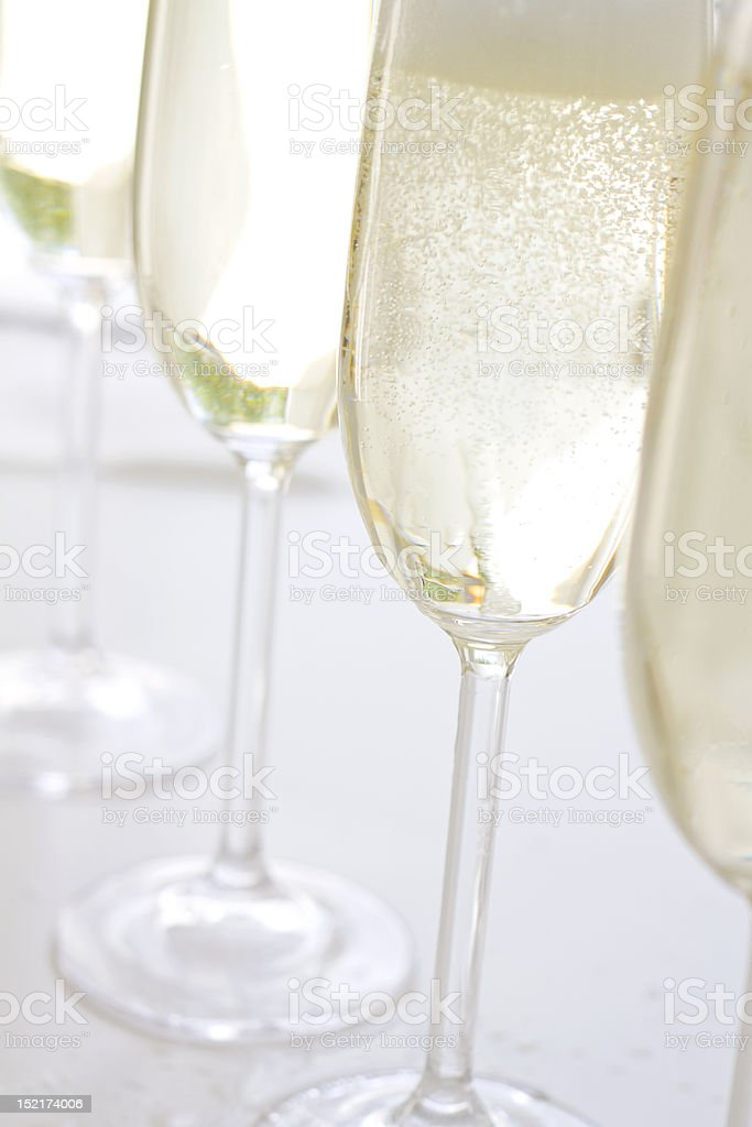 sparkling wine royalty-free stock photo