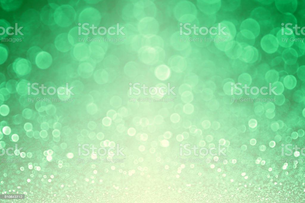 Sparkly Green Glitter Sparkle Background stock photo