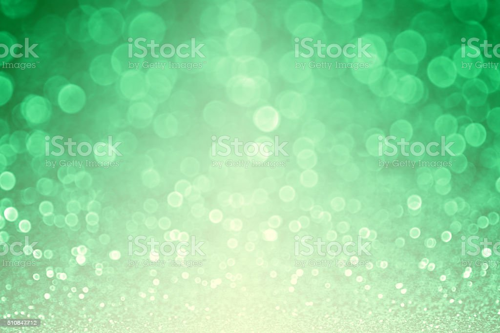 Sparkly Green Glitter Sparkle Background stock photo
