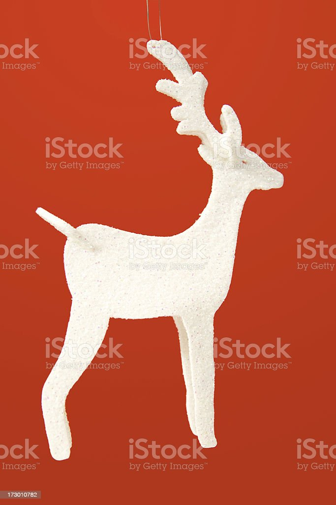 Sparkly Rudolf royalty-free stock photo