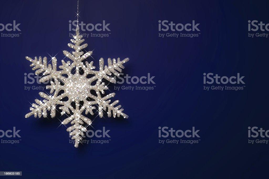 Sparkly Snowflake royalty-free stock photo