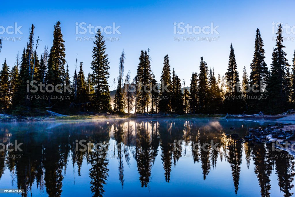 Sparks Lake stock photo