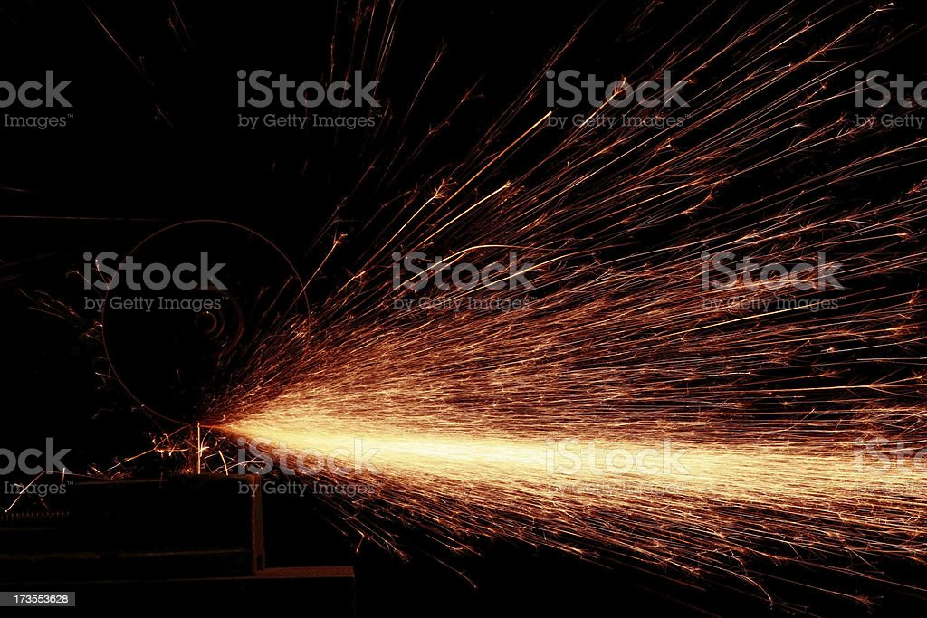 sparks royalty-free stock photo