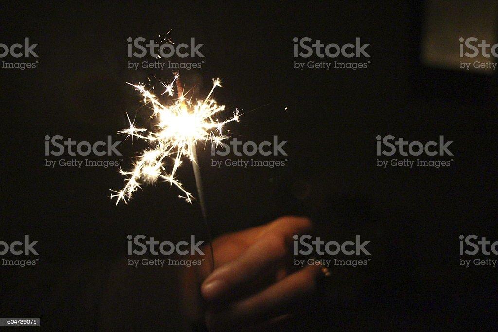 Sparks stock photo