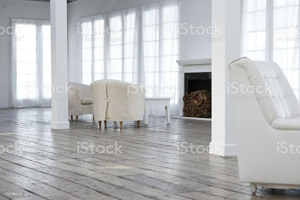 sparse apartment royalty-free stock photo