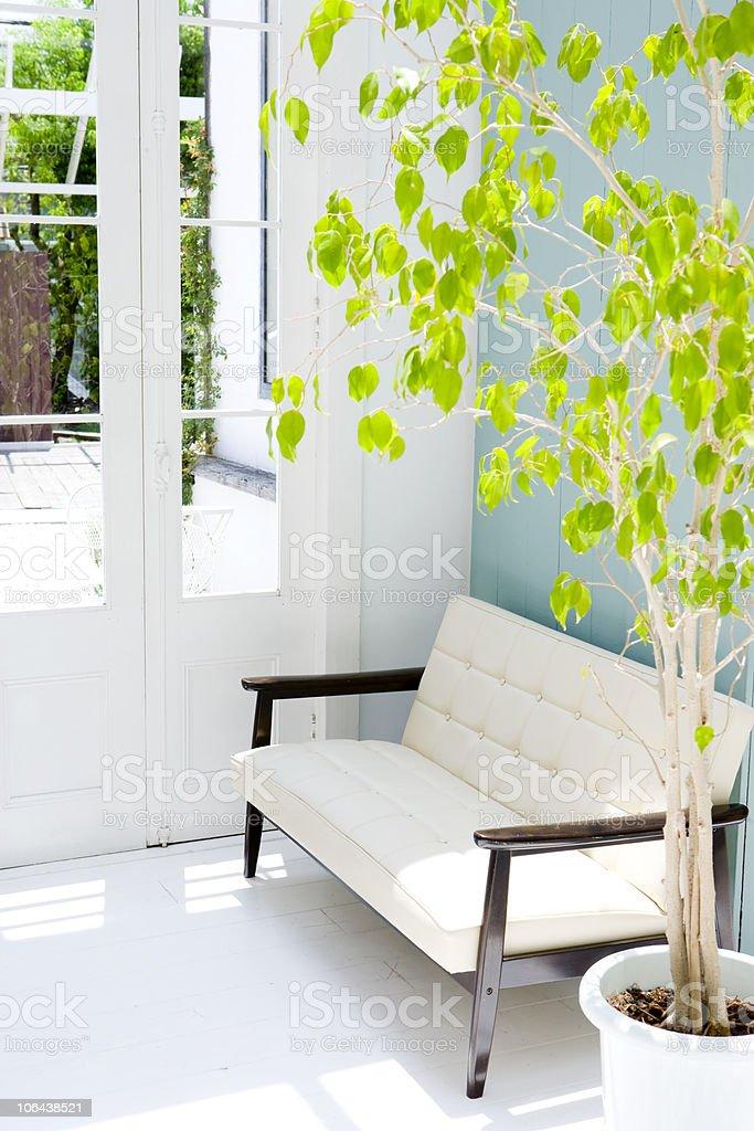 sparse livingroom royalty-free stock photo