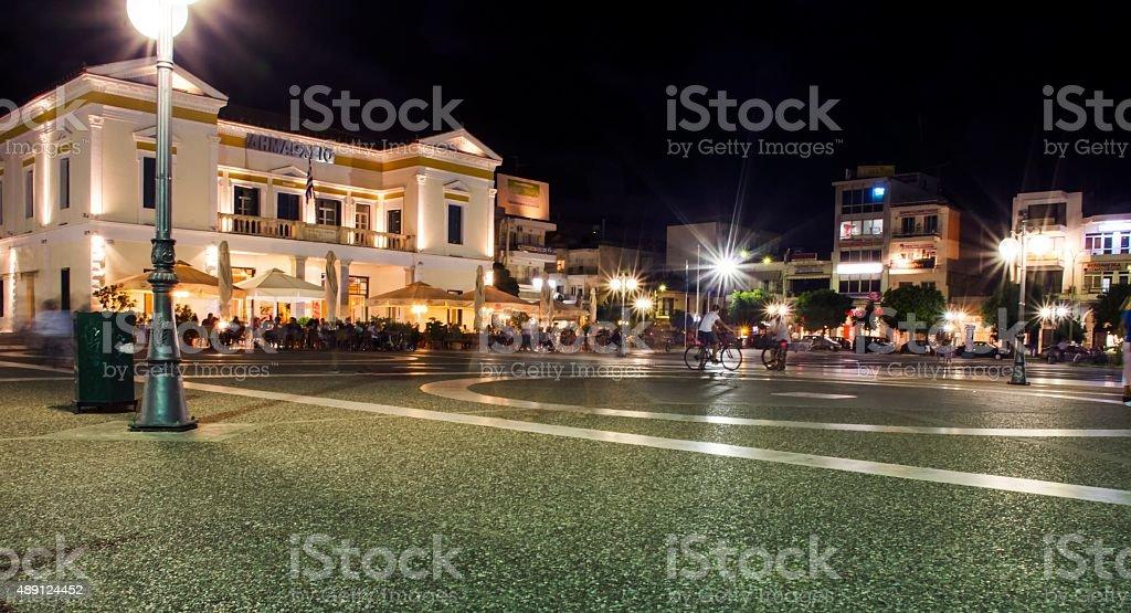 Sparta city centre stock photo