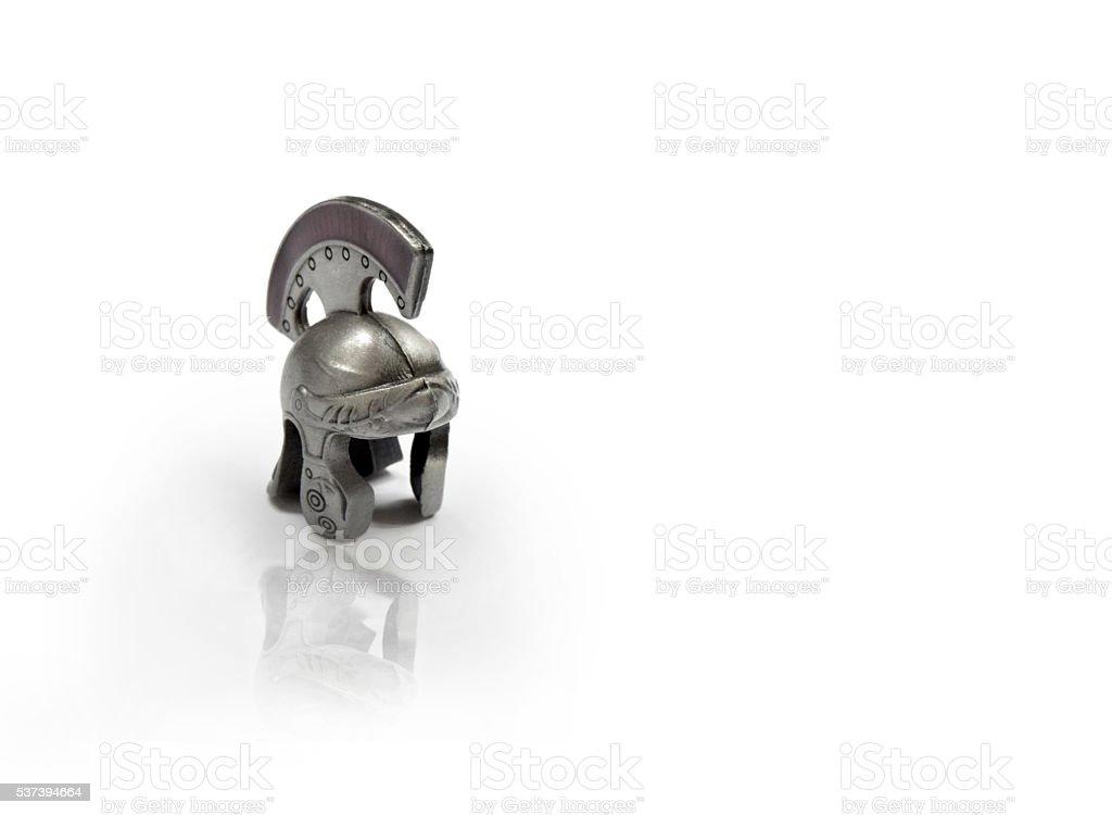 Spartan keychain for keys stock photo