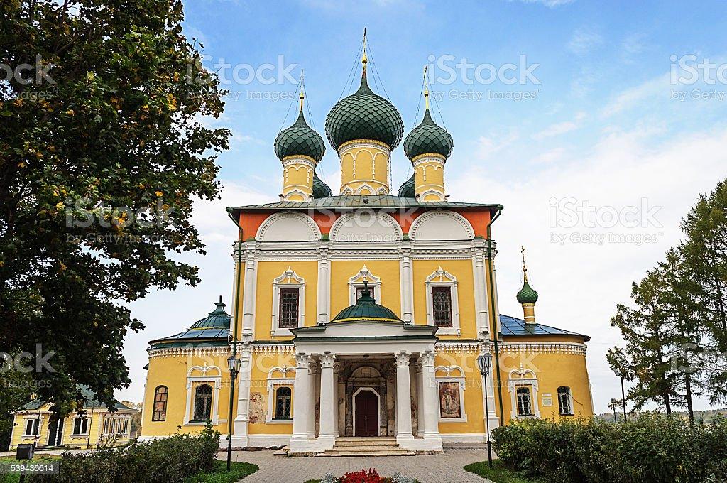 Spaso-Preobrazhensky (Transfiguration) Cathedral in Uglich stock photo