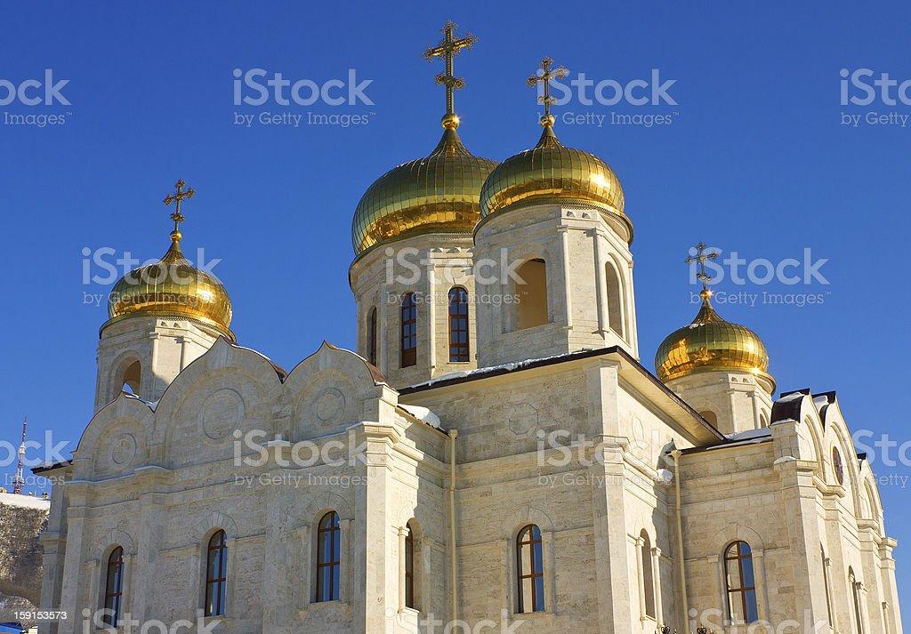 Spasski Cathedral in Pyatigorsk. royalty-free stock photo