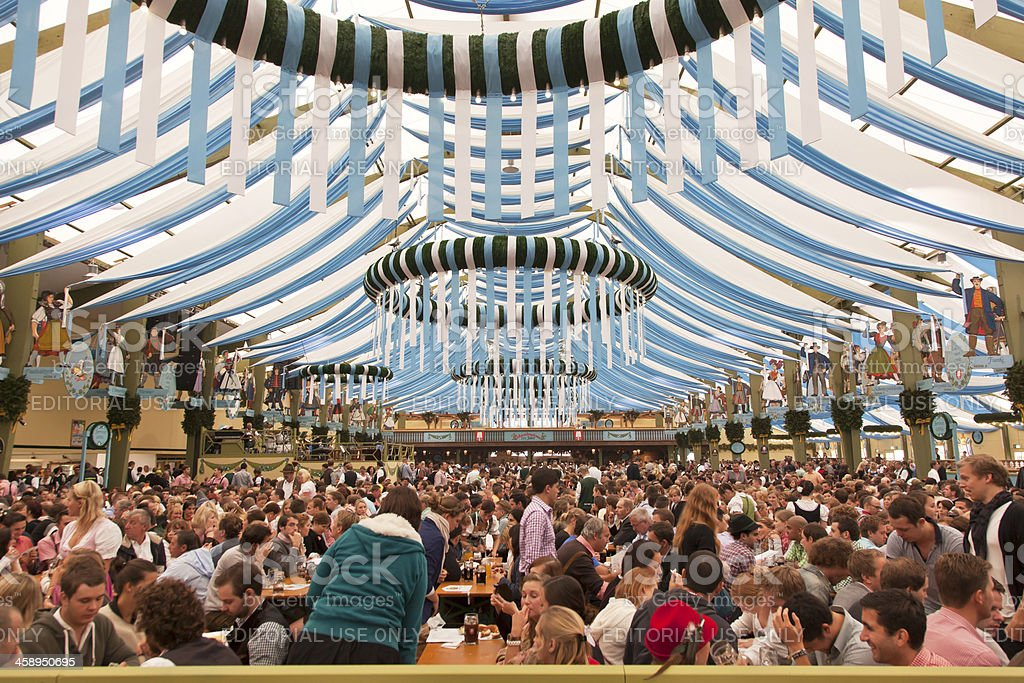 SpatenBrau- Festivalhall stock photo