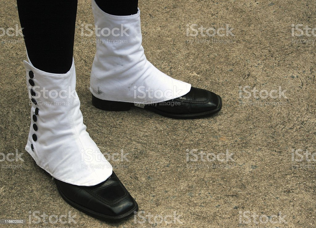 Spats stock photo