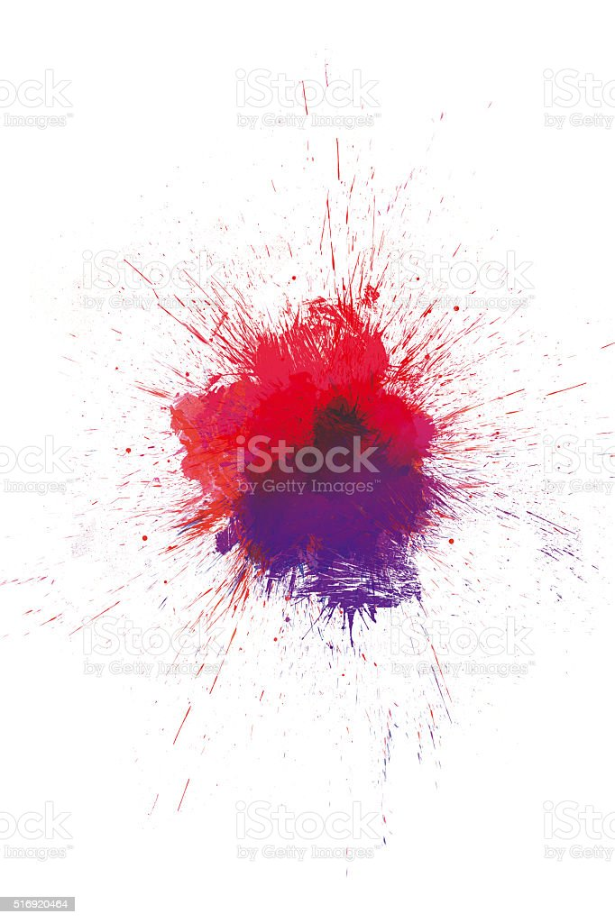 Spatter stock photo