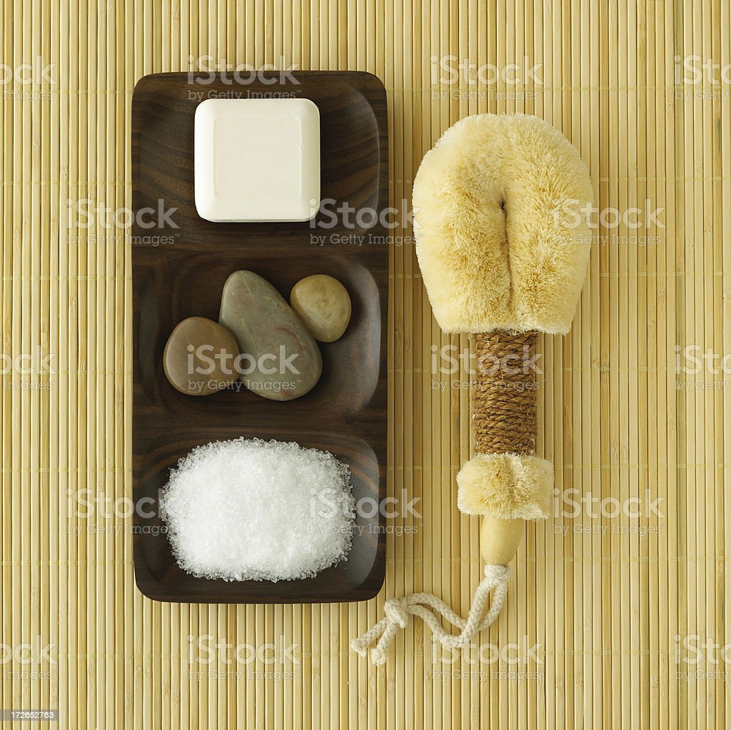 Spa-Various Elements royalty-free stock photo