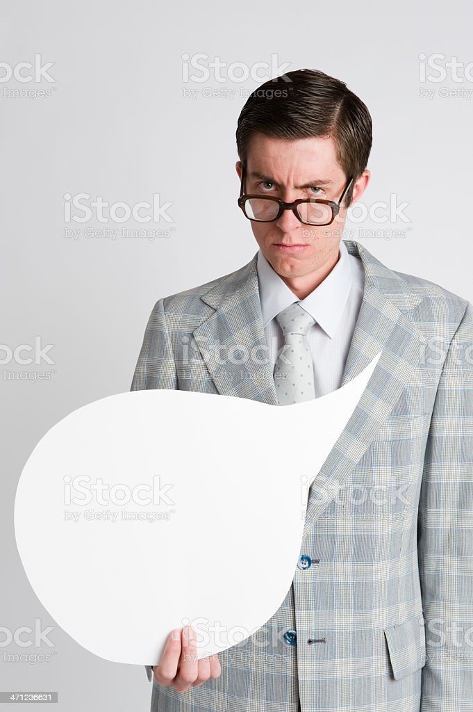 Speak Bubble stock photo