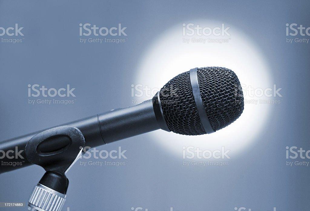 Speak out! stock photo