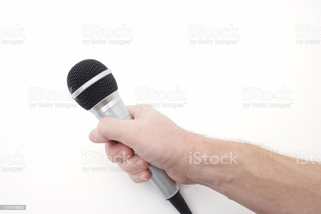 Speak Up, Be Heard, Give Your Opinion royalty-free stock photo