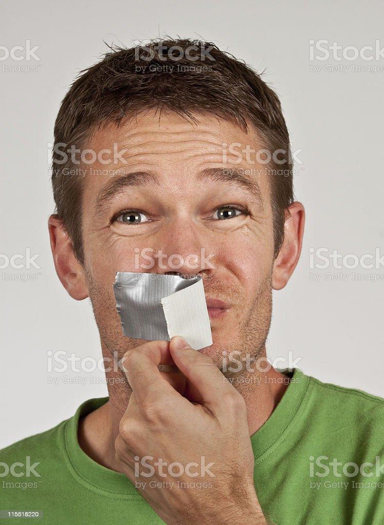 Speak up stock photo