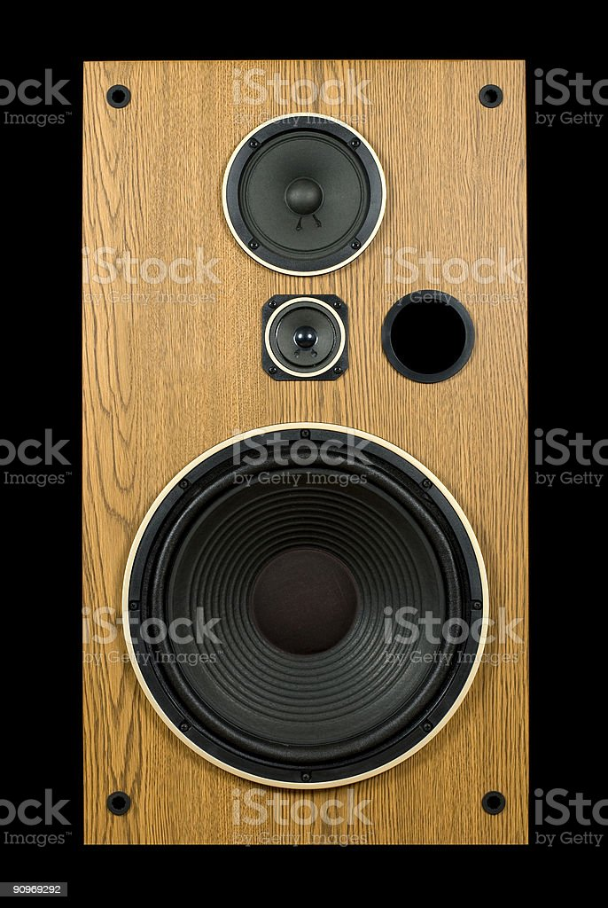 Speaker 1 stock photo