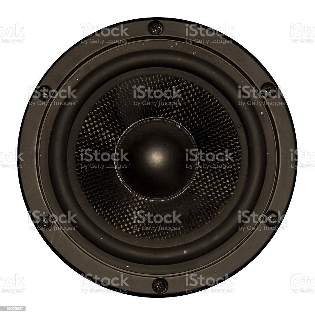 Speaker Element stock photo