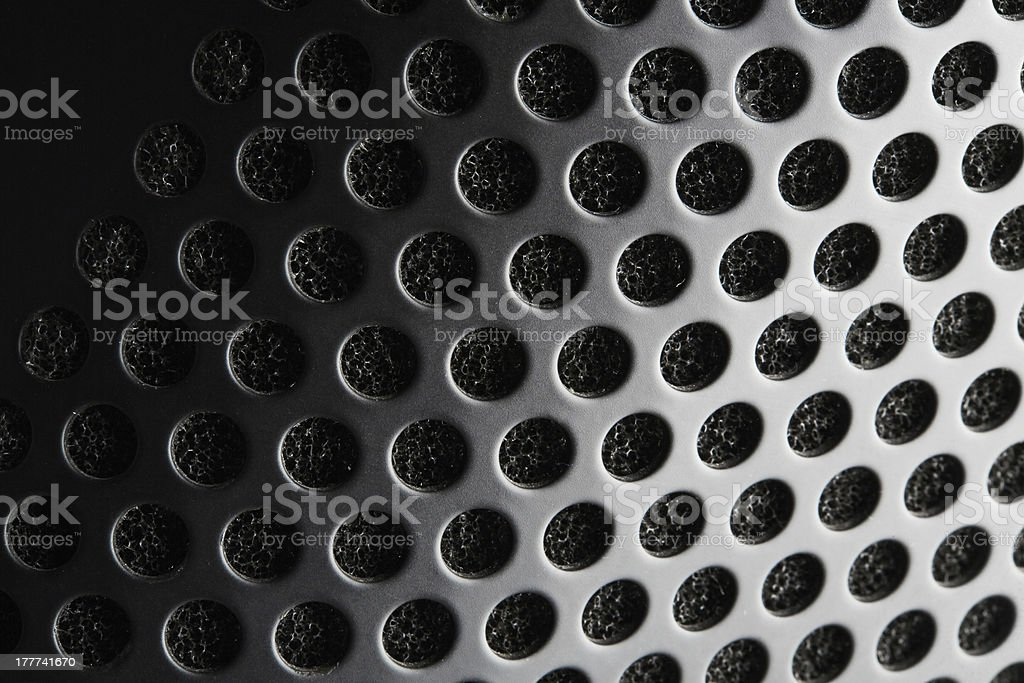 Speaker grid royalty-free stock photo