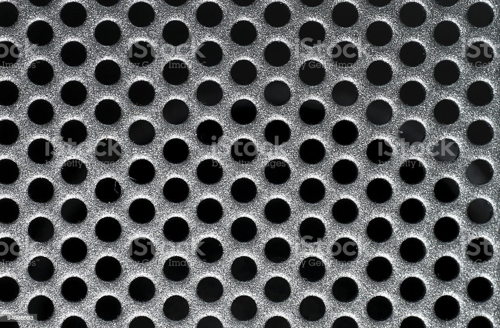 Speaker grille as background stock photo