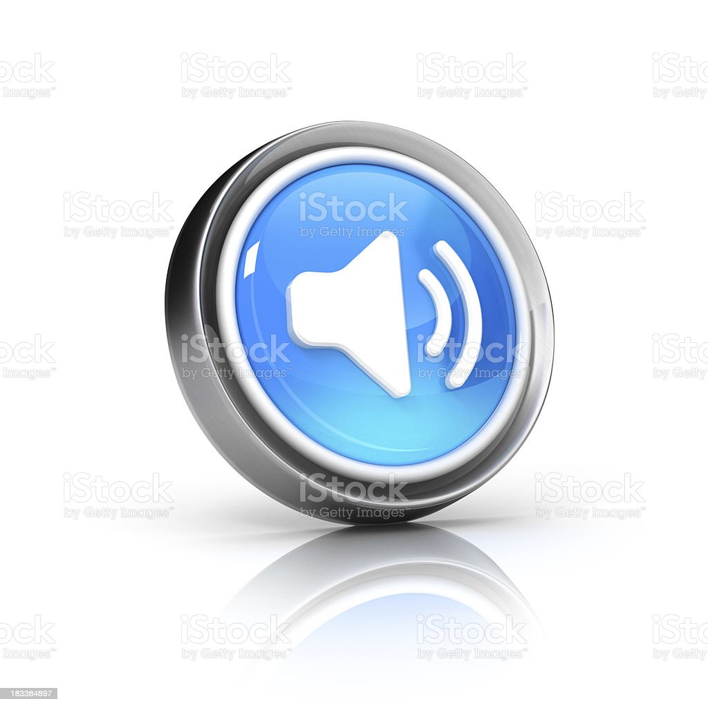 speaker icon royalty-free stock photo