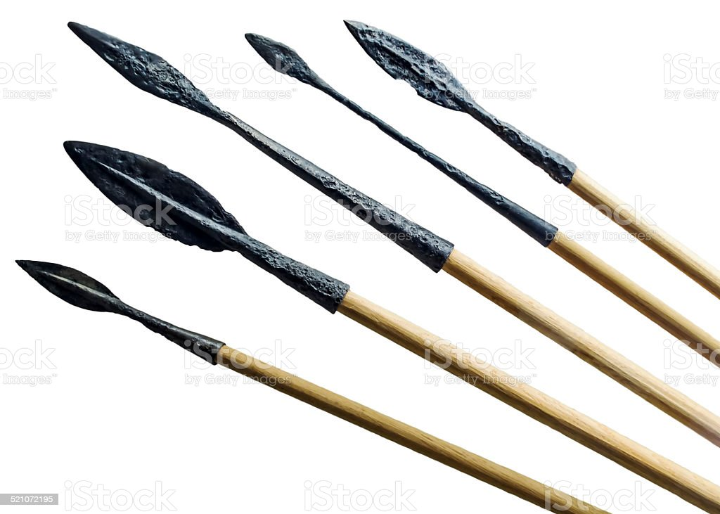 Spears stock photo