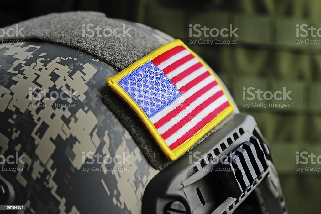 US Spec Ops Tactical Gear stock photo