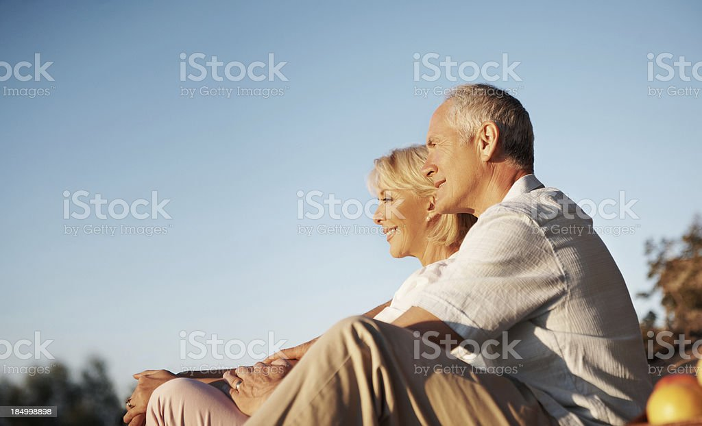 Special and beautiful moment royalty-free stock photo