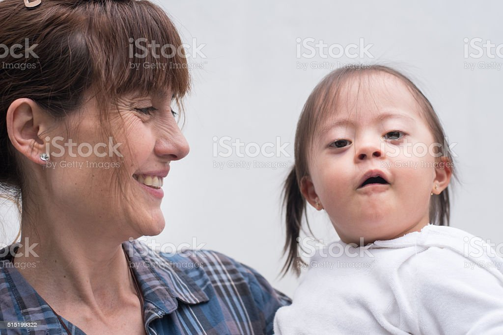 Special caring stock photo