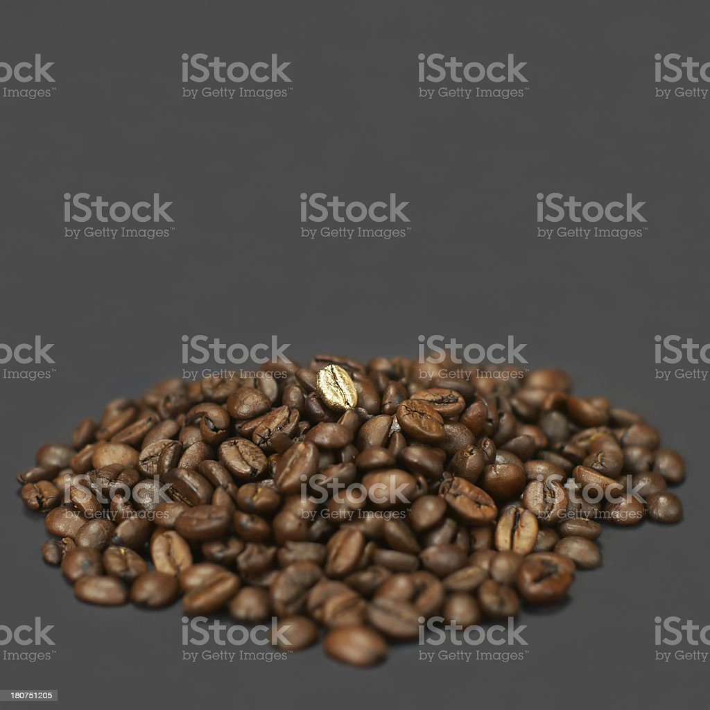 Special Coffee Bean royalty-free stock photo