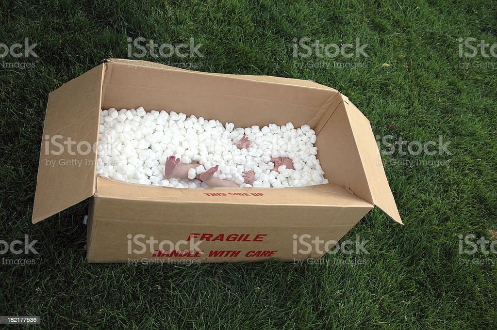Special Delivery stock photo