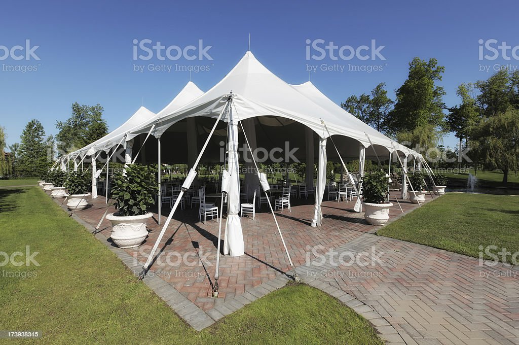 Special Event Canopy stock photo